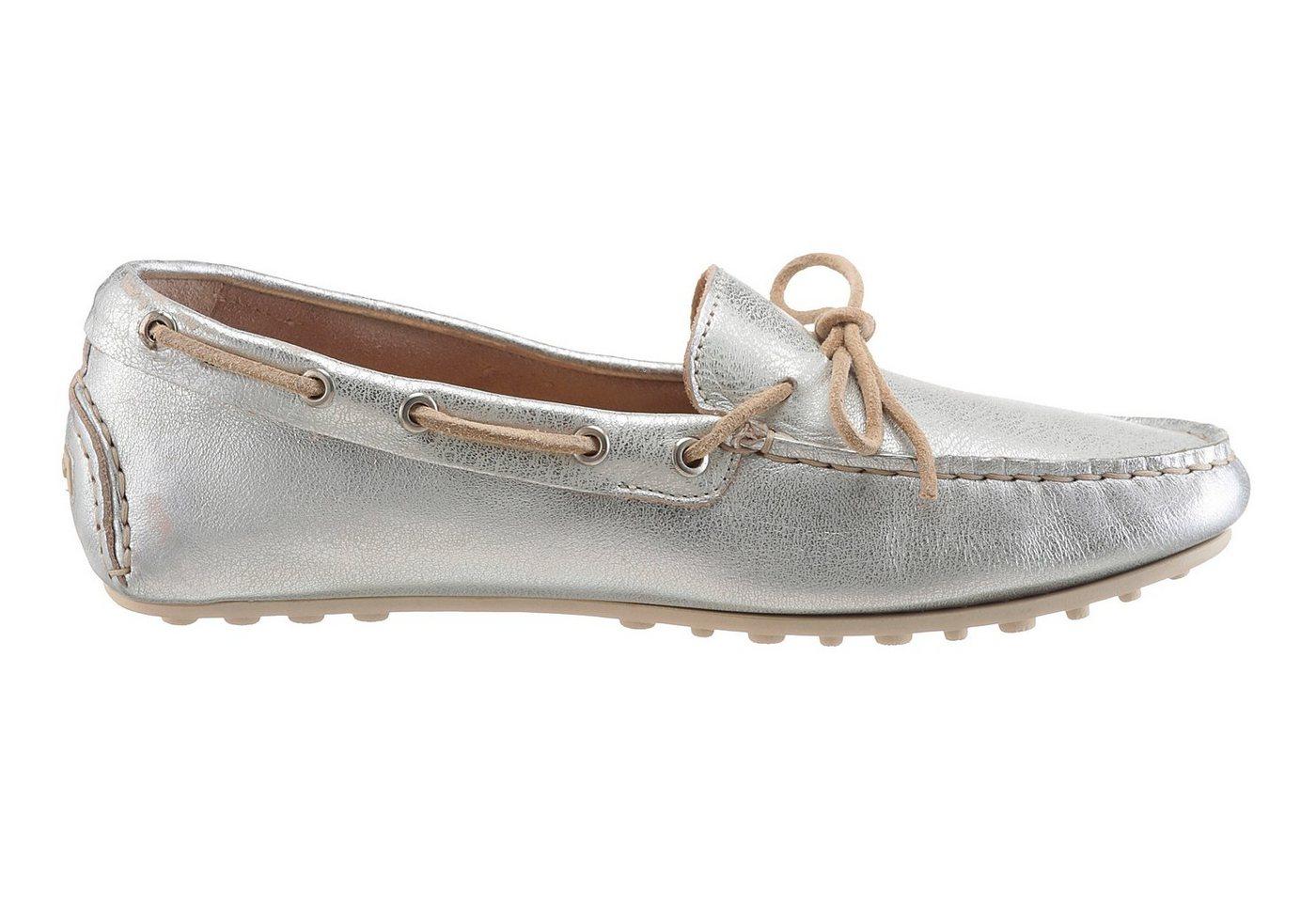 Gant Footwear Mokassin, in Metallic-Optik