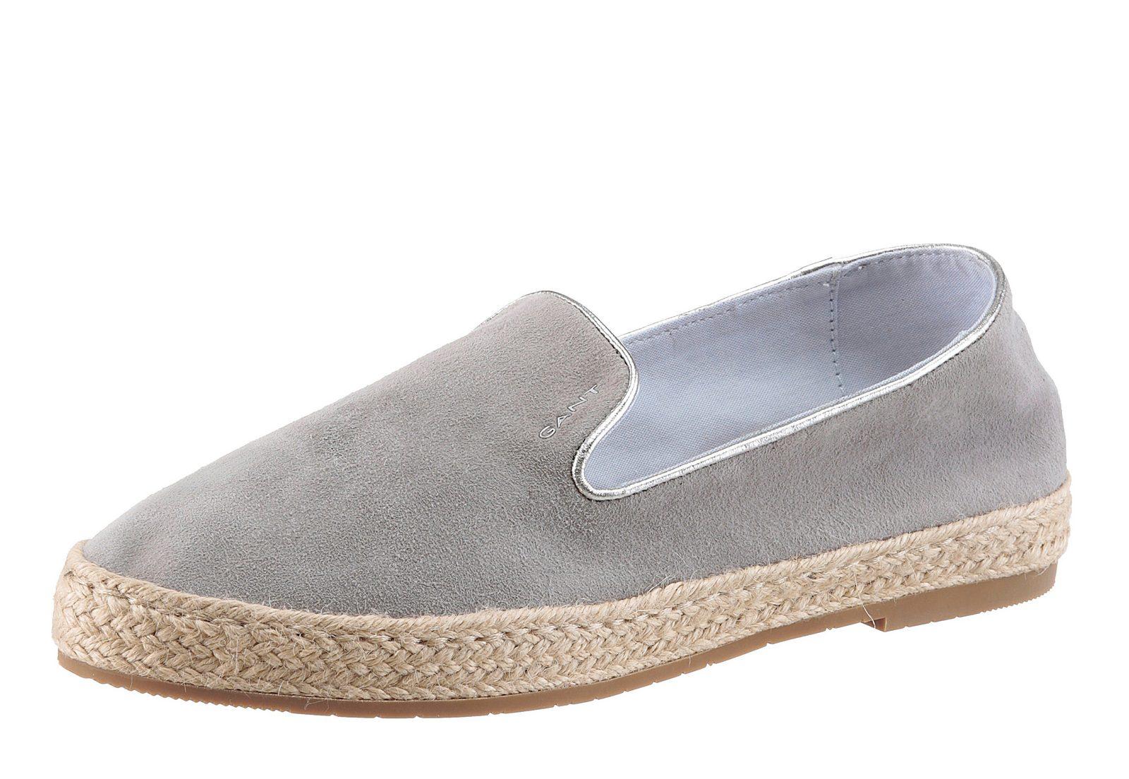 Gant Footwear Loafer, mit Jutebesatz - broschei