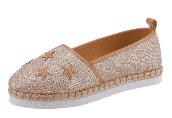 Arizona Slipper, With Trendy Sternen