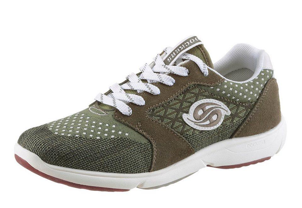 Dockers Sneaker in moosgrün