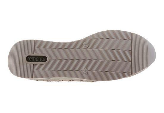 Remonte Slipper, mit Perforation und Nieten