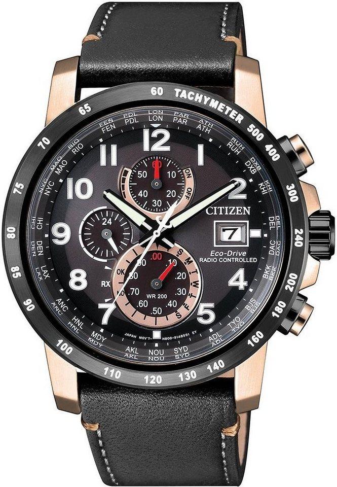 Citizen Funkchronograph »AT8126-02E« in schwarz