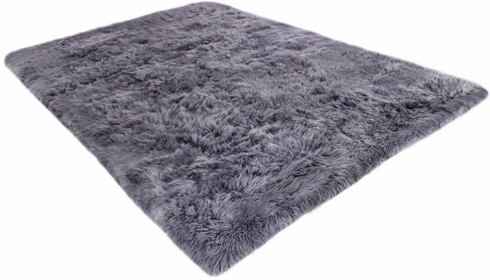 Fell-Teppich, Luxor Living, »Davos«, Höhe ca 30 mm, echtes Lammfell in grau
