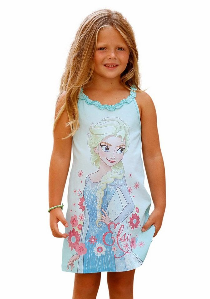 Walt Disney Jerseykleid Die Eiskönigin - Elsa in mint