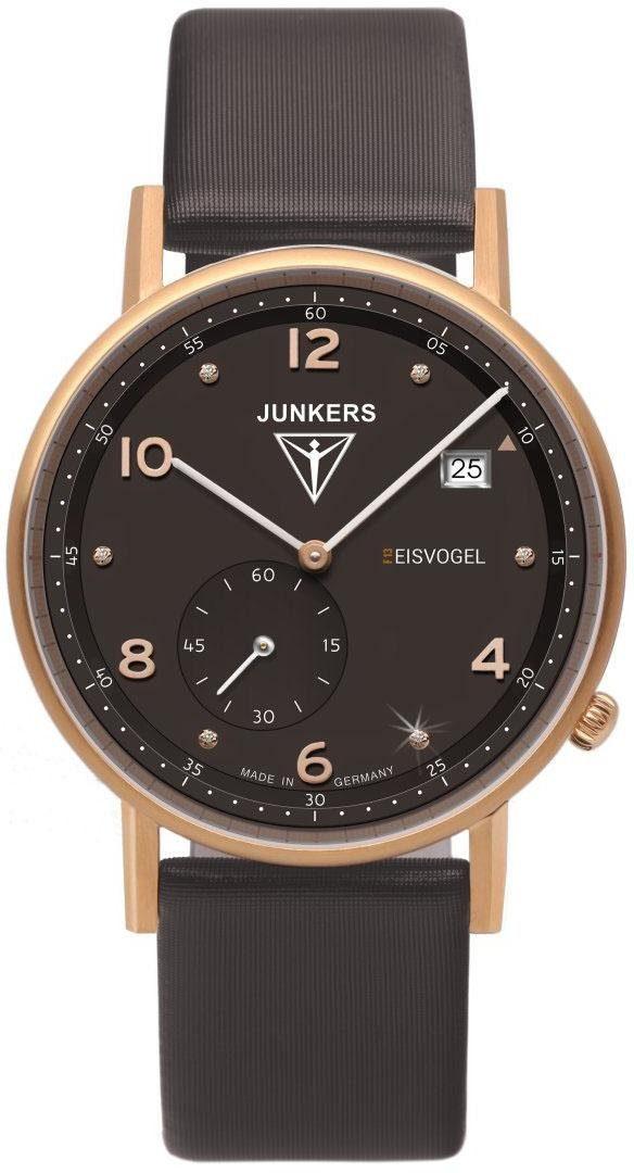Junkers-Uhren Quarzuhr »Eisvogel F13, 6733-2« Made in Germany