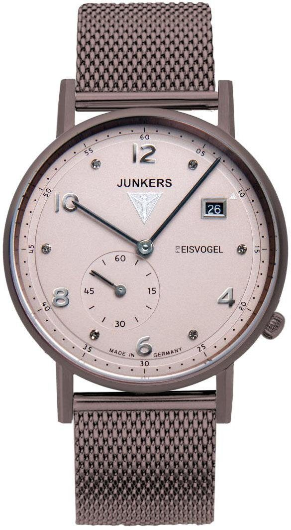 Junkers-Uhren Quarzuhr »EISVOGEL, 6735-M4« Made in Germany