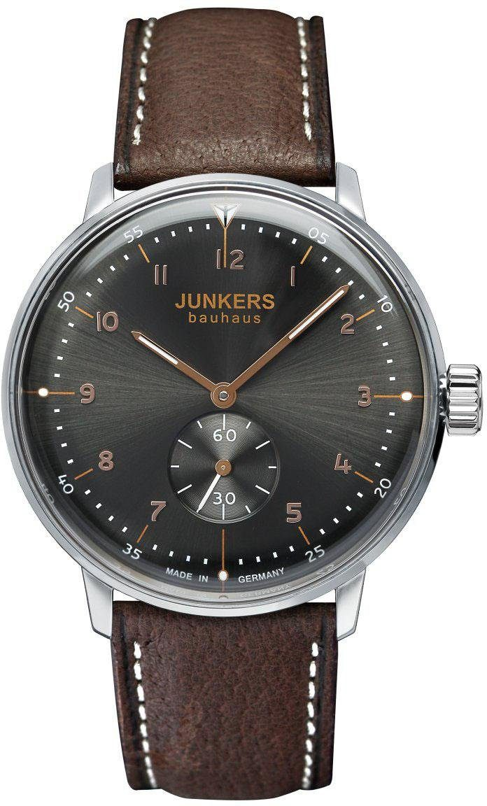 Junkers-Uhren Automatikuhr »Bauhaus, 6030-2«, Made in Germany