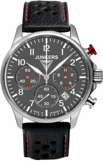 junkers uhren chronograph tante ju 6874 2 made in germany online kaufen otto. Black Bedroom Furniture Sets. Home Design Ideas