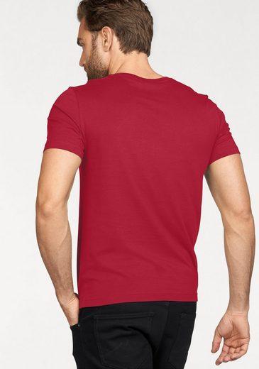 MUSTANG T-Shirt, mit Logo-Print
