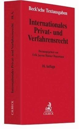 Broschiertes Buch »Internationales Privat- und Verfahrensrecht«