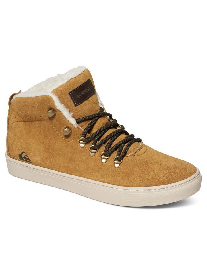 Quiksilver Mid-top »Jax« in brown/brown/white