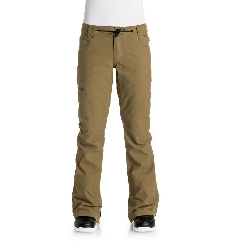 DC Shoes Snow-Hose »Viva« in Dull gold