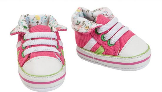 Heless Puppenkleidung »Puppen-Schuhe Sneakers, pink, Gr. 38-45 cm«