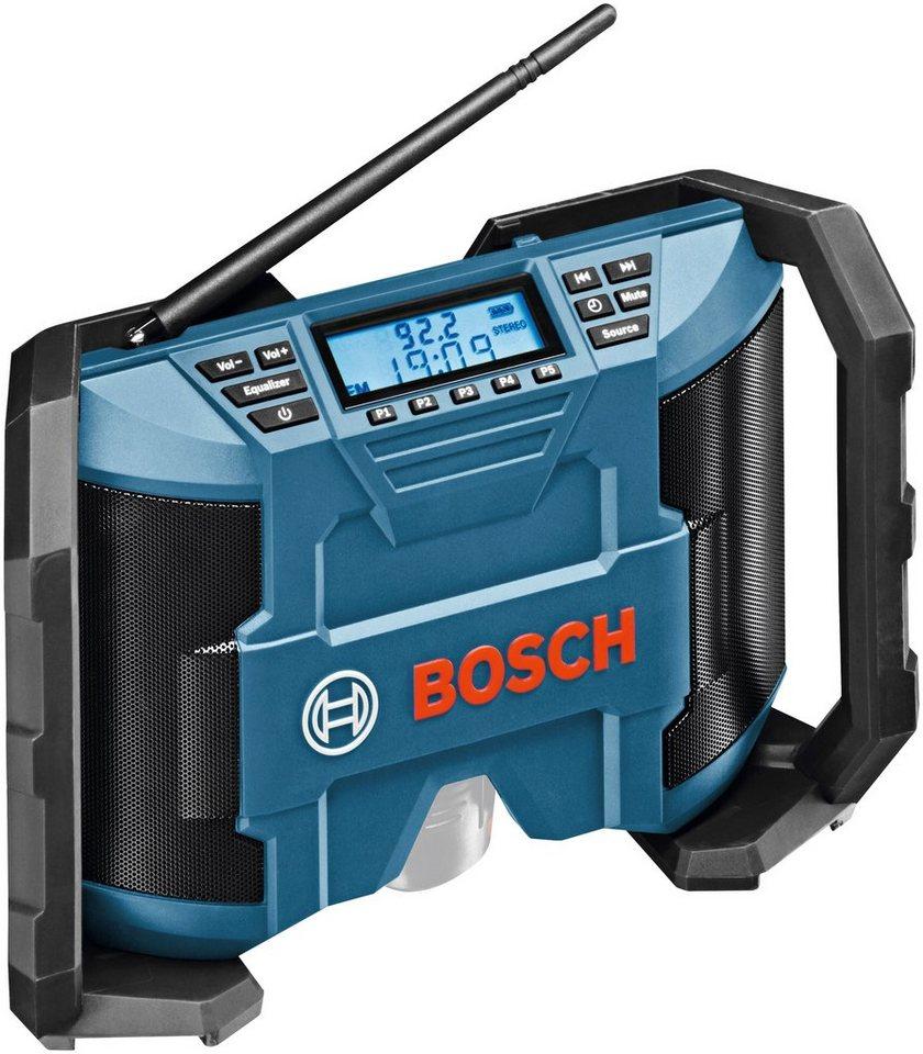 Baustellenradio »GML 10,8 V-LI solo« in blau