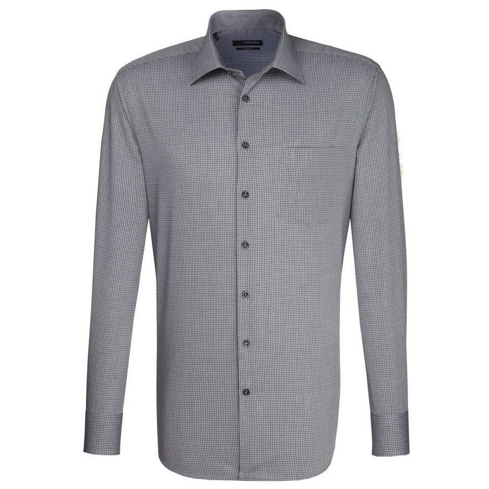 Seidensticker Businesshemd »Splendesto« in grau