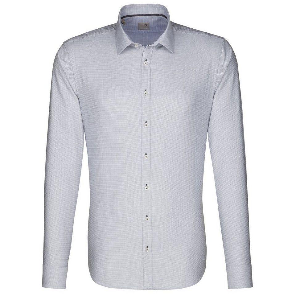SEIDENSTICKER Businesshemd »Tailored« in grau