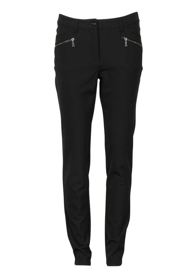 Brandtex Stretch-Hose in schwarz
