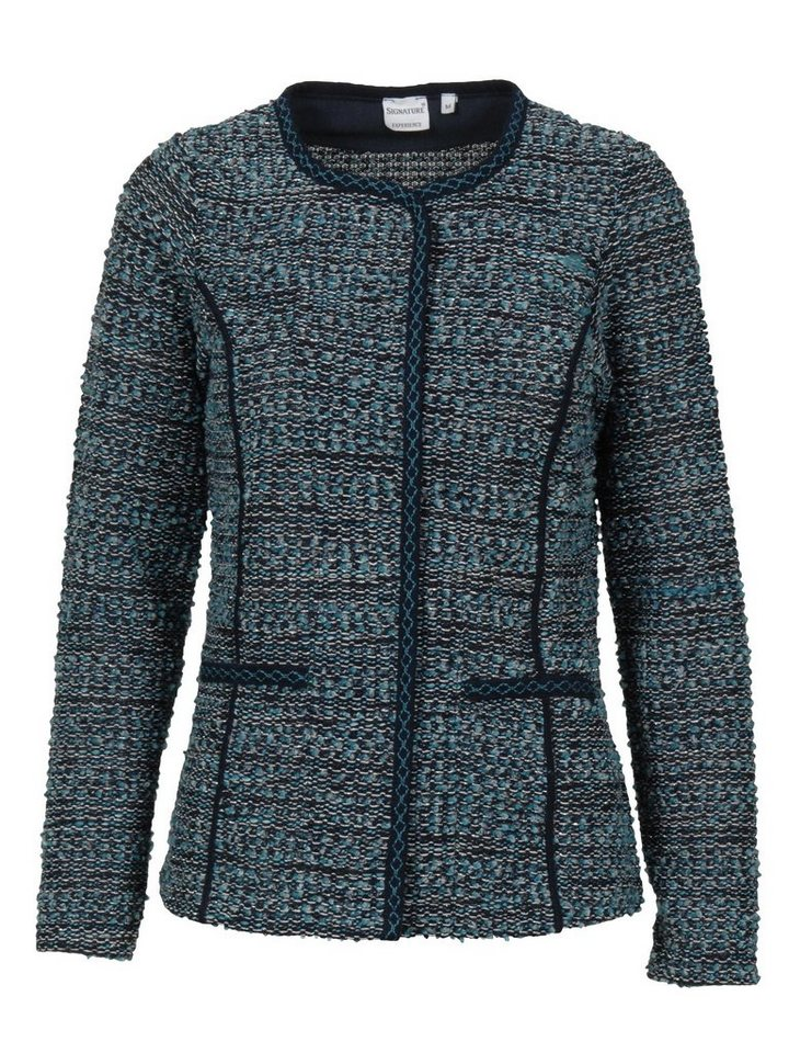 Signature Strickjacke in blau