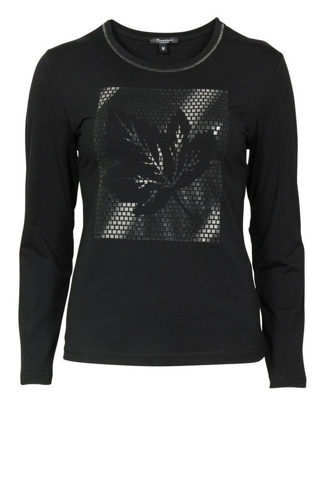 Brandtex T-Shirt in schwarz