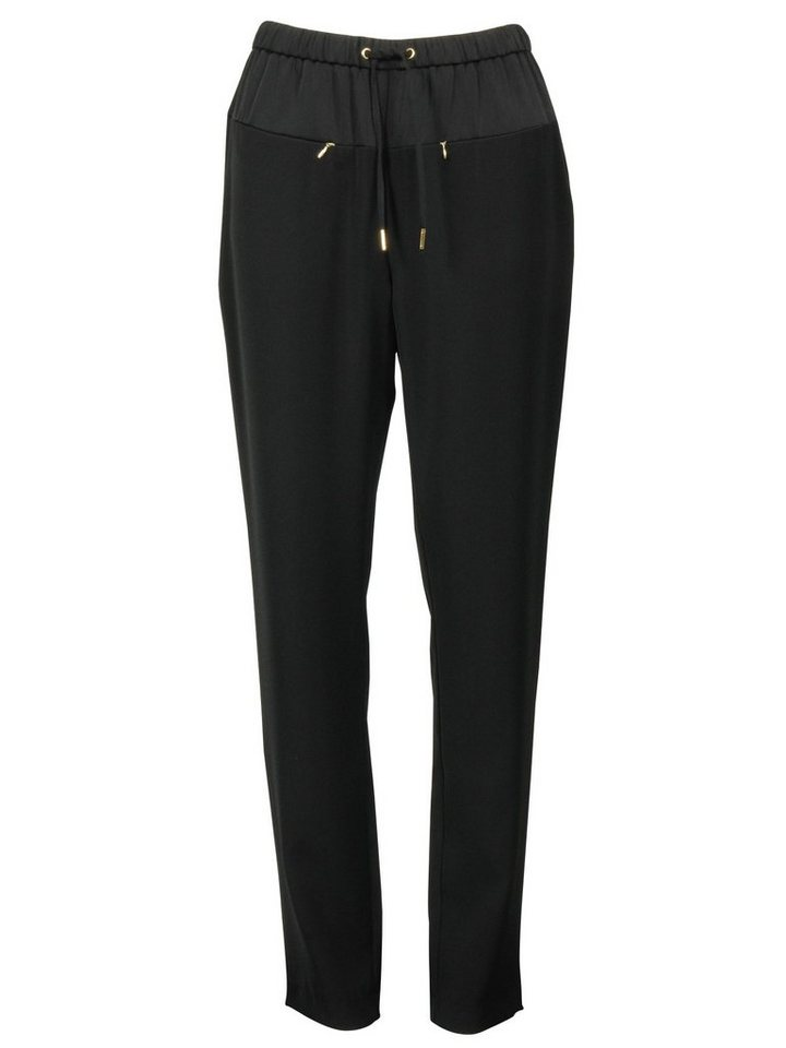 Imitz Stretch-Hose in schwarz