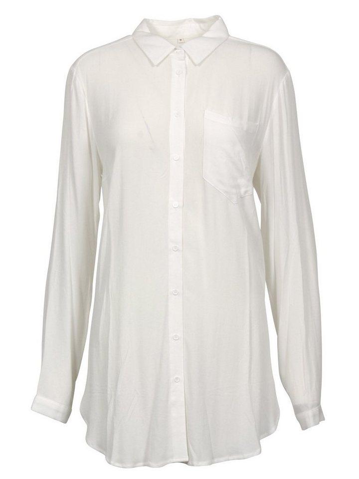 Brandtex Shirtbluse in offwhite
