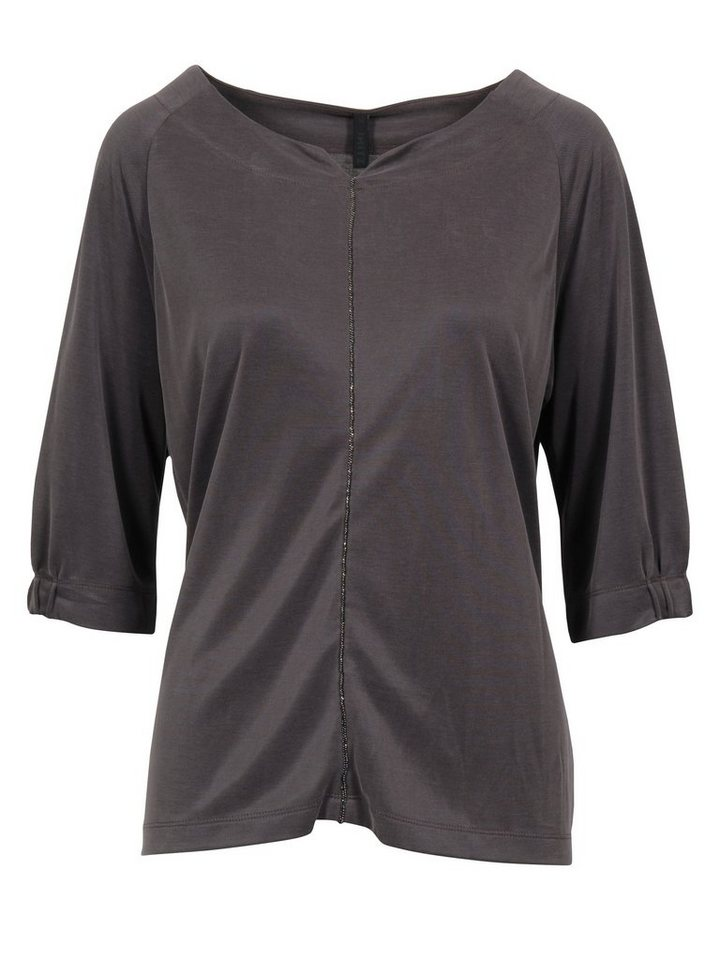 Imitz Shirtbluse in braun