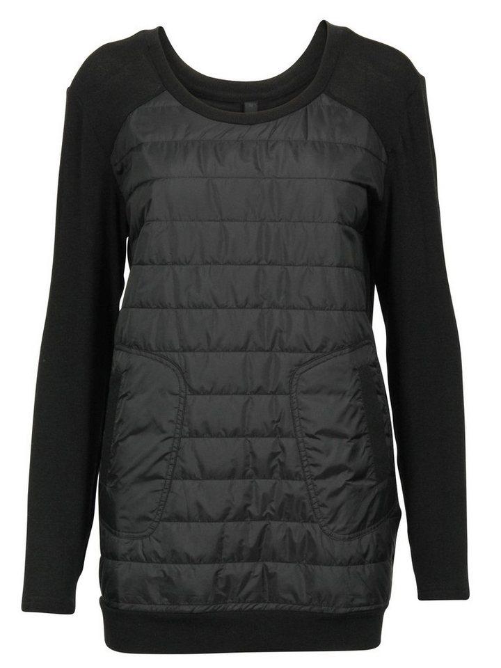 Imitz Sweatshirt in schwarz