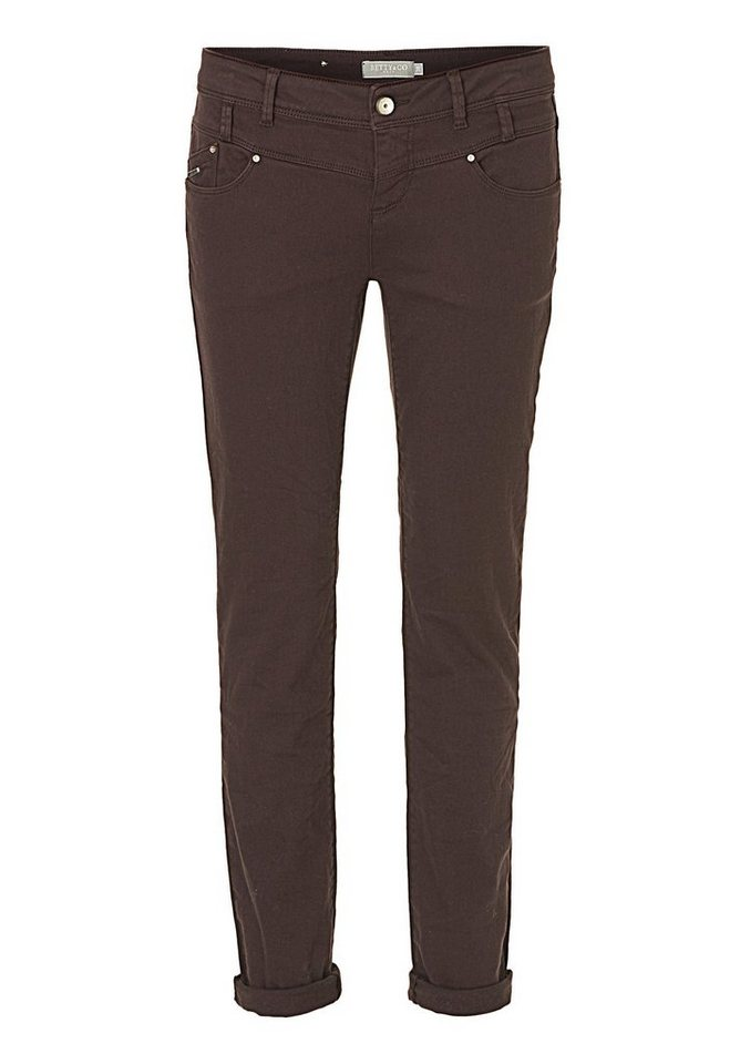 Betty&Co Braune Jeans in braun - Bunt