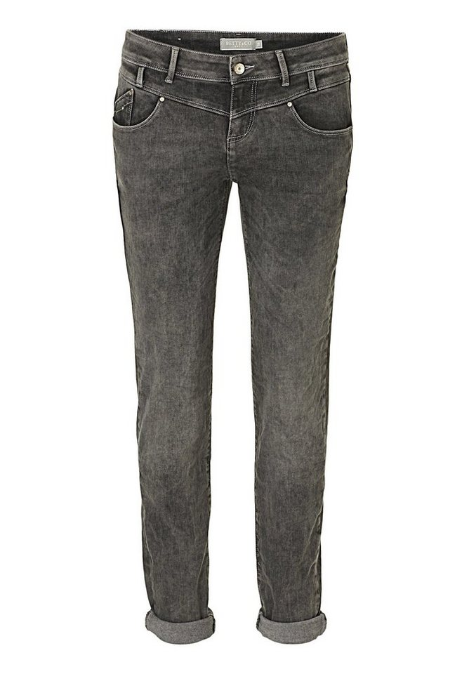 Betty&Co Jeans in Taupe - Bunt