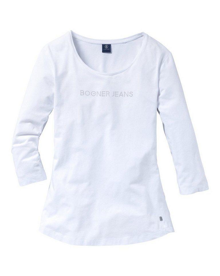 Bogner Jeans Shirt in Weiß