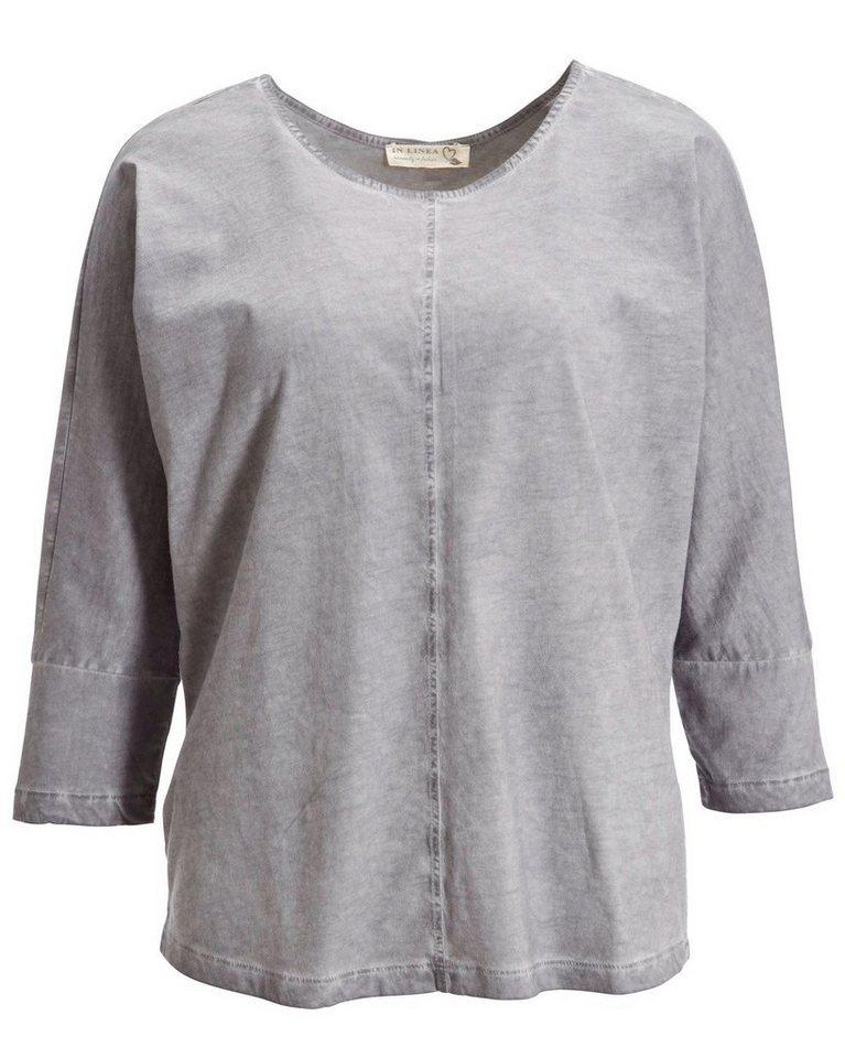 In Linea Shirt in Grau