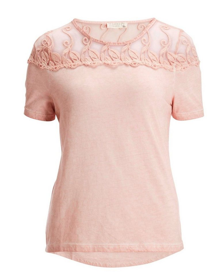 In Linea T-Shirt in Rosa