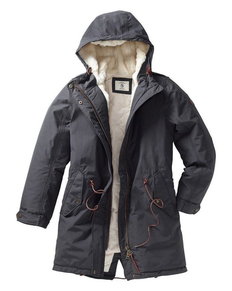 Aigle Parka in Anthrazit