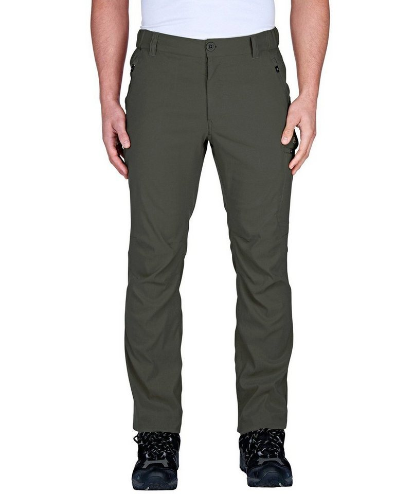 Craghoppers Stretchhose Kiwi Pro in Dark Khaki