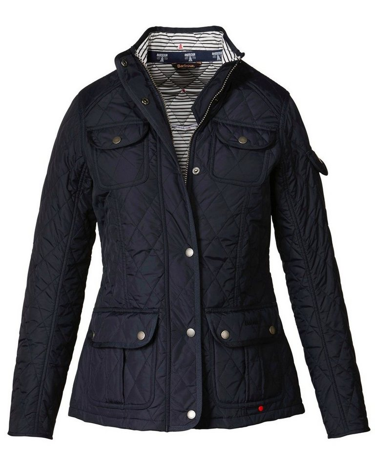 Barbour Steppjacke Buryhead Quilt in Navy