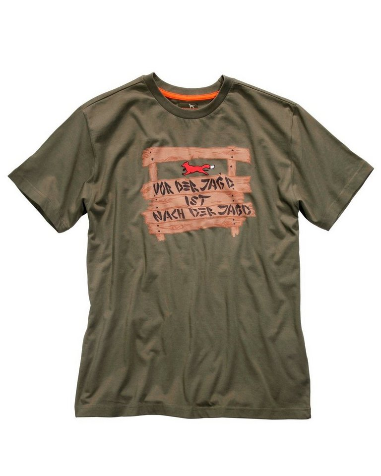 Parforce T-Shirt vor der Jagd in Oliv