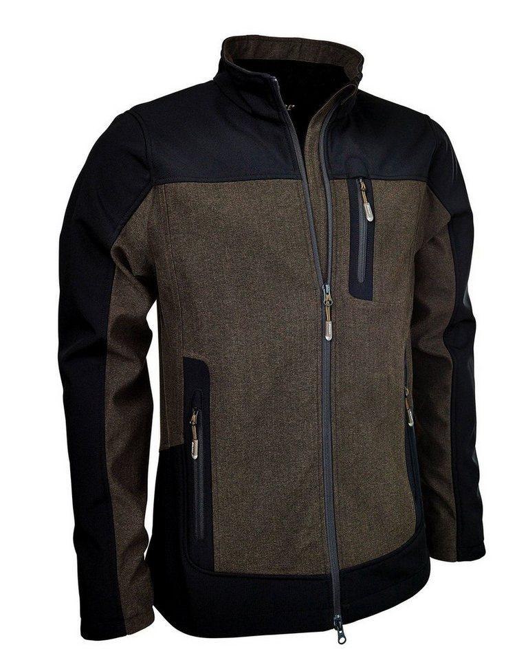 Blaser Active Vintage Jacke in Braun-Meliert