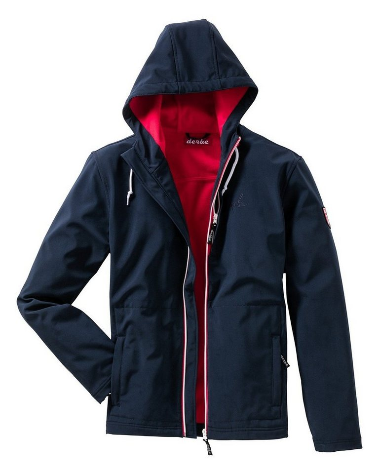 Derbe Softshell Jacke in Marine