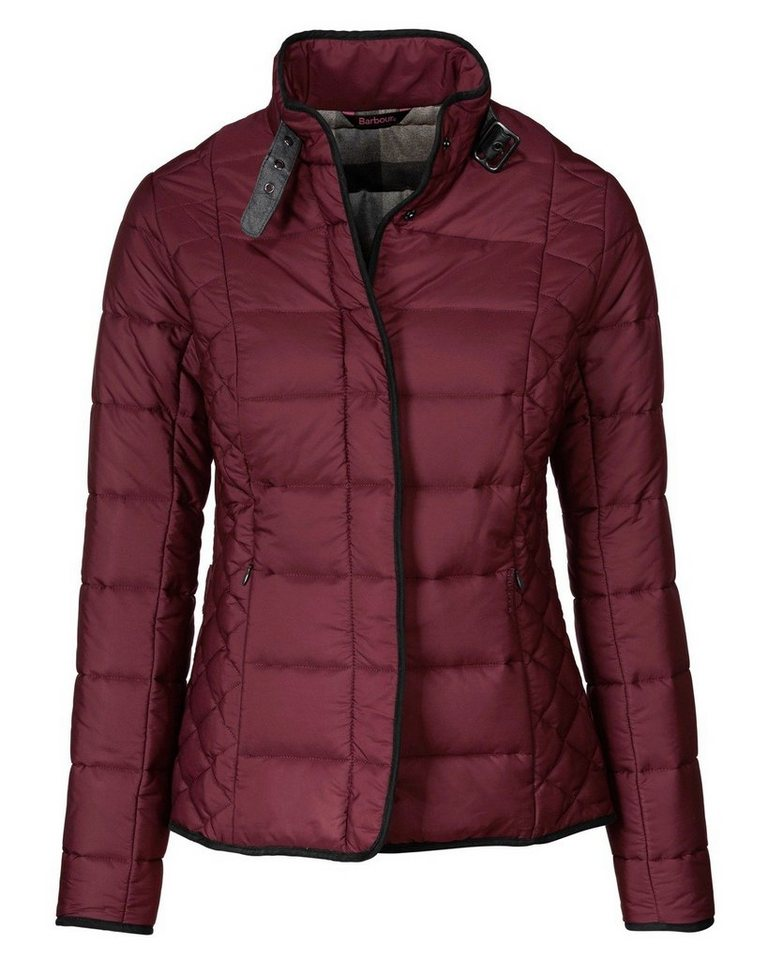 Barbour Steppjacke Straiton Quilt in Bordeaux