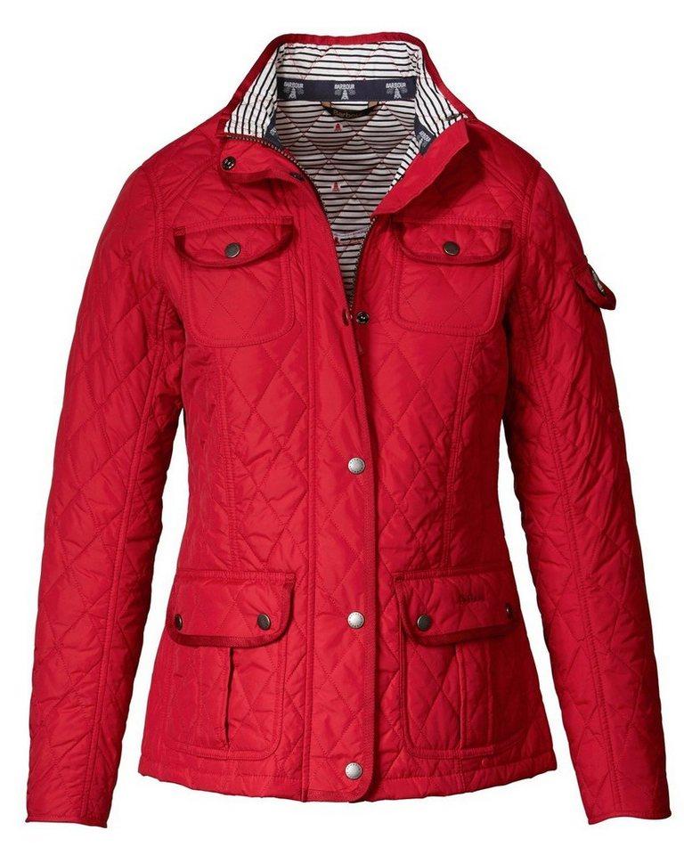 Barbour Jacke Damen Rot