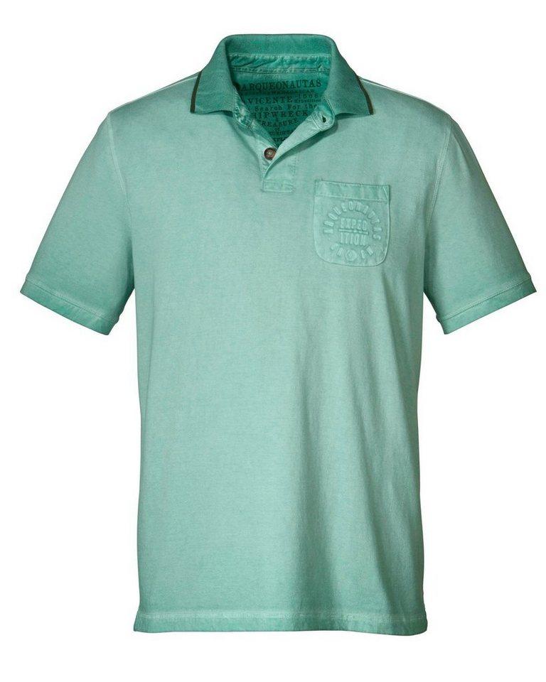 Arqueonautas Poloshirt in Mint