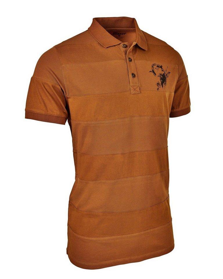 Blaser Active Outfits Polo-Hemd Noah in Burned Orange