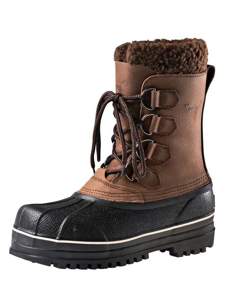 Seeland Thermostiefel Grizzly Pack in Dunkelbraun