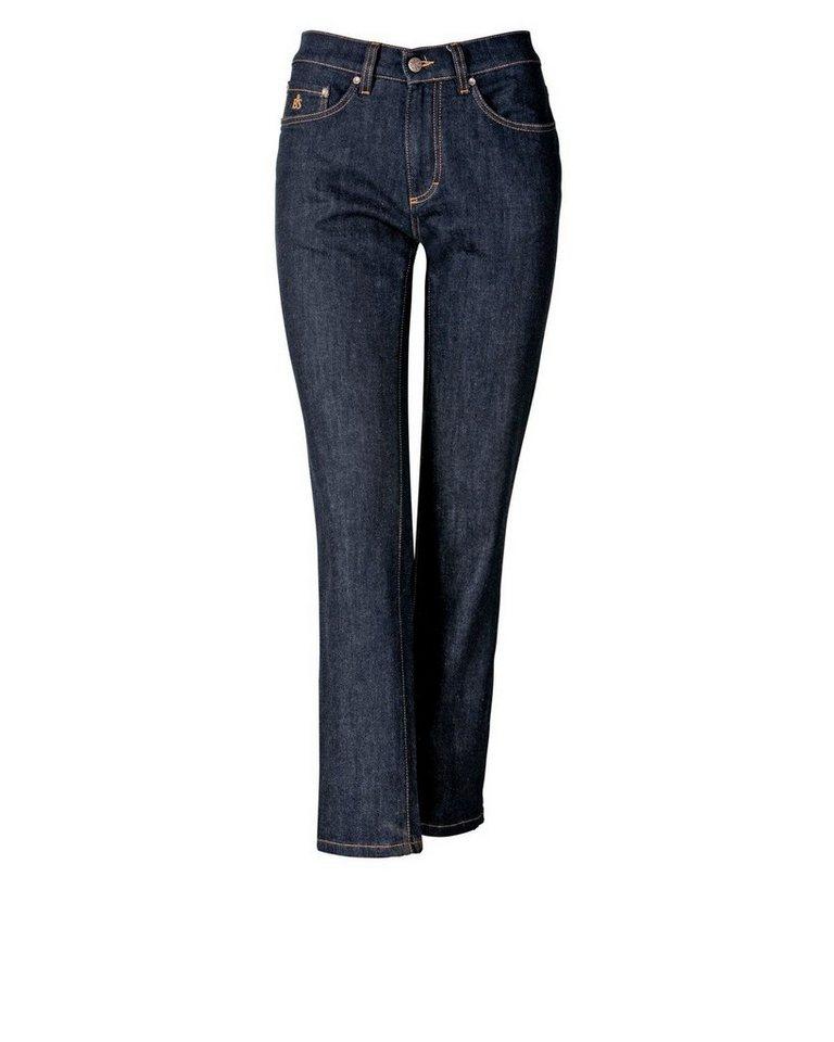 Brigitte von Schönfels 7/8-Jeans in Dark Denim