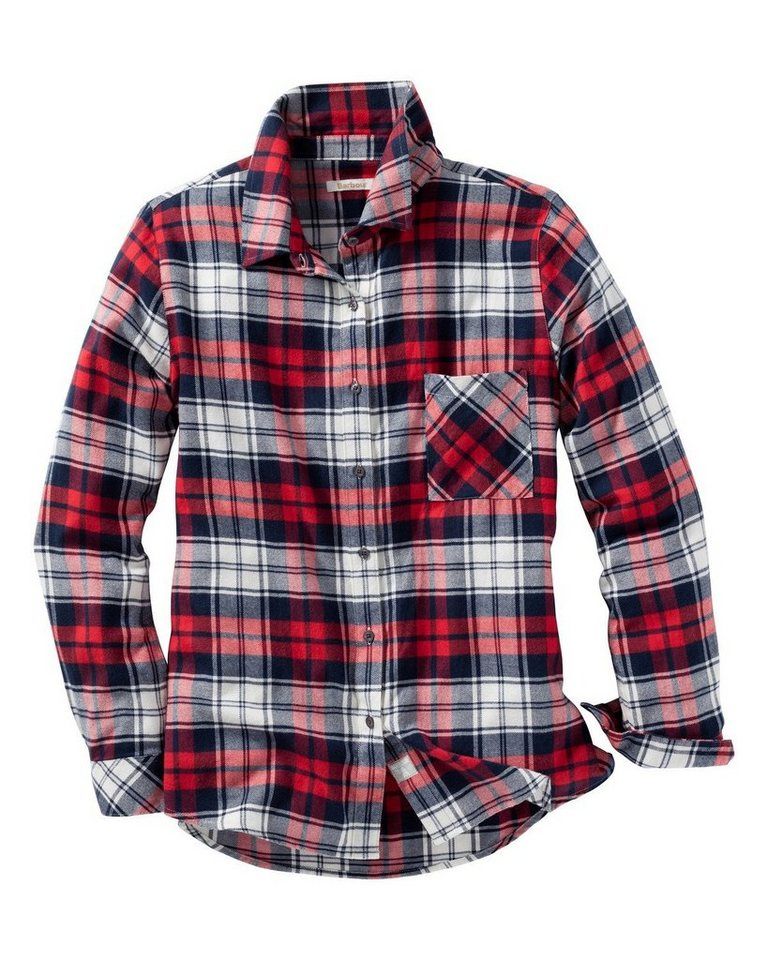 Barbour Karobluse Tidewater in Rot