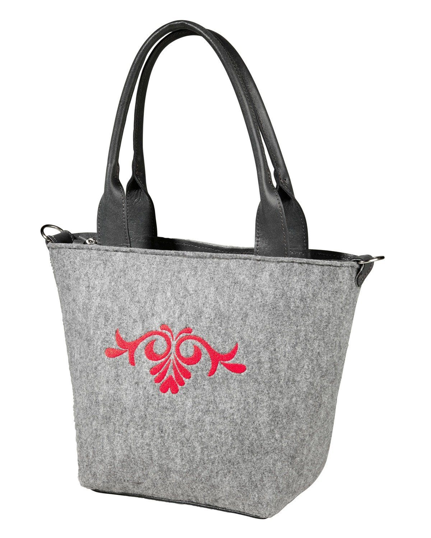 Reitmayer Filz-Handtasche