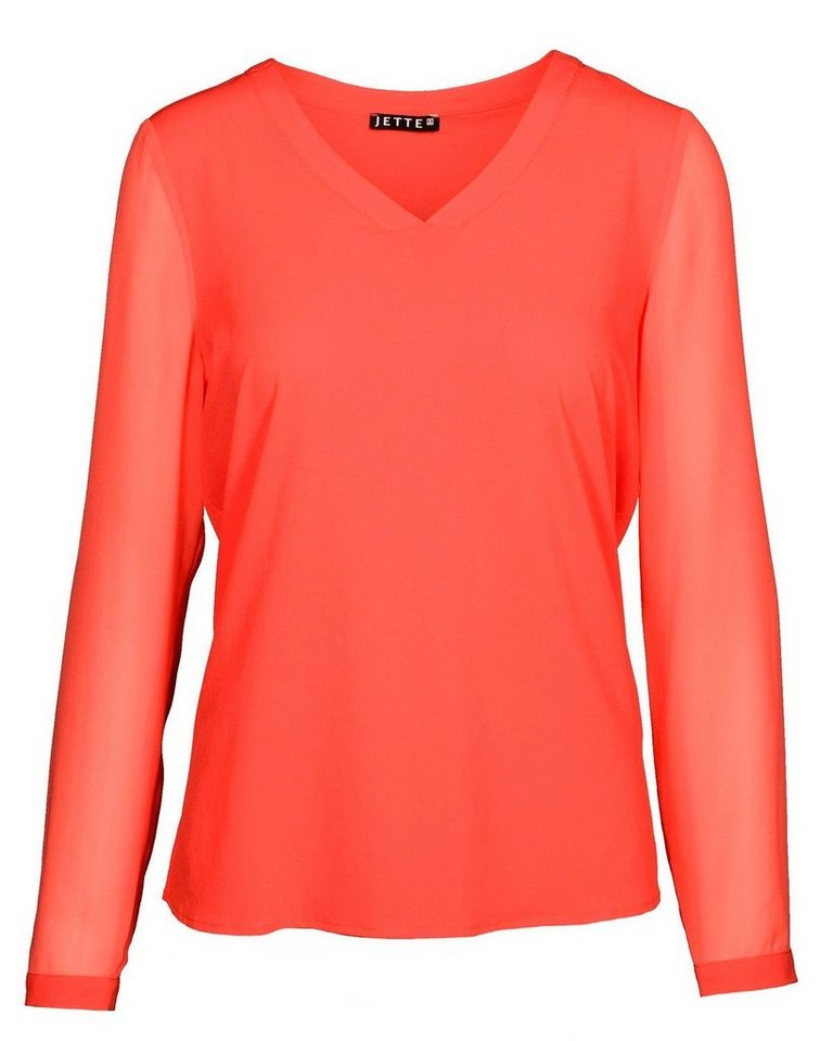 JETTE Bluse in Orange