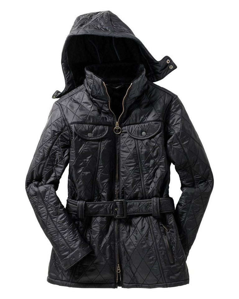 Barbour Steppjacke Grace Polarquilt in Schwarz