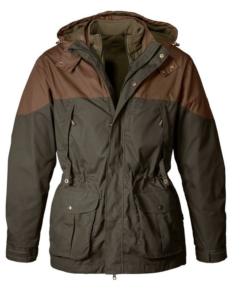 Parforce 2-in-1 Winterjacke PS 5000 in Oliv/Schlamm