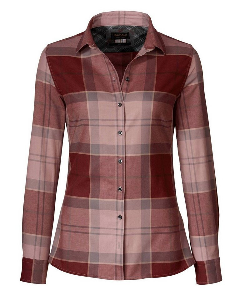 Barbour Karobluse Carlin Shirt in Bordeaux